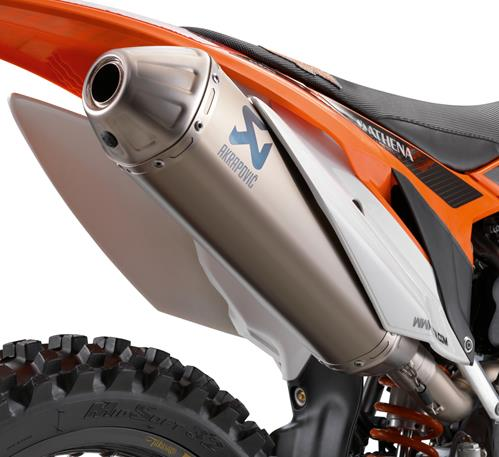 KTM Akrapovic Exhaust
