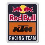 RED BULL KTM RACING TEAM METAL SIGN